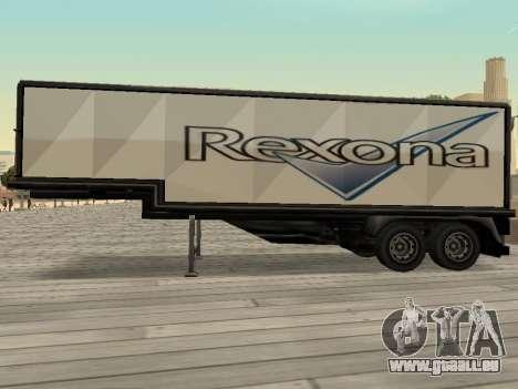 La nouvelle publicité sur les voitures pour GTA San Andreas cinquième écran