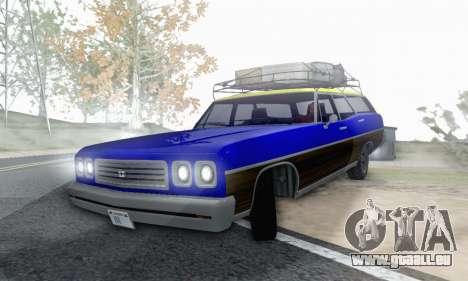 Dundreary Regina V1.0 pour GTA San Andreas vue de côté