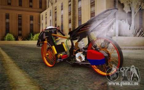 Honda Click 125i pour GTA San Andreas laissé vue