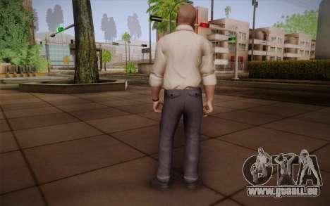 Special Agent Jason Hudson из CoD: Black Ops für GTA San Andreas zweiten Screenshot