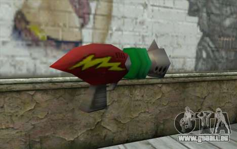 Cortexs Ray Gun für GTA San Andreas zweiten Screenshot