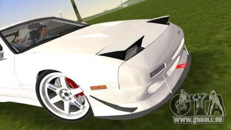 Mazda Savanna RX-7 III (FC3S) pour une vue GTA Vice City de la droite