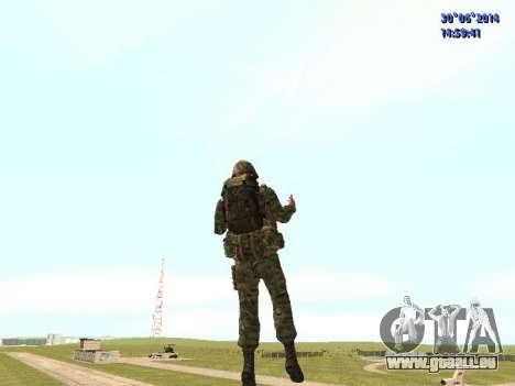 Die Kämpfer der Russischen Armee für GTA San Andreas fünften Screenshot