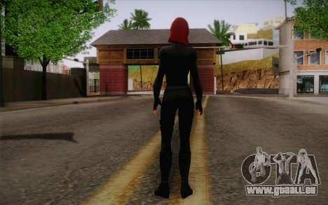 Scarlet Johansson из Avengers pour GTA San Andreas deuxième écran