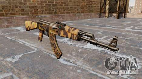 Die AK-47 Herbst für GTA 4