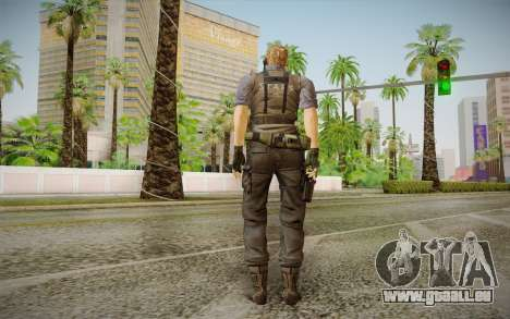 Wesker Stars from Resident Evil 5 pour GTA San Andreas deuxième écran