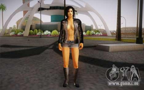 Jill Biker pour GTA San Andreas