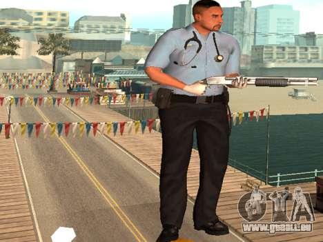 Pack Medic pour GTA San Andreas deuxième écran