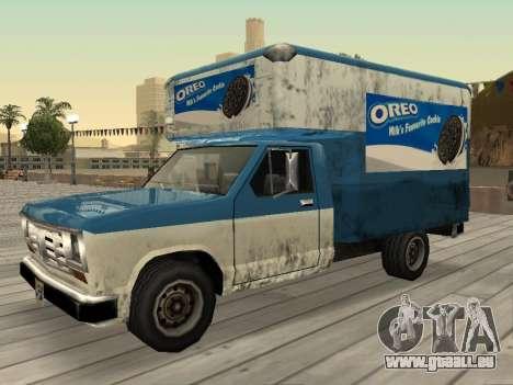 La nouvelle publicité sur les voitures pour GTA San Andreas neuvième écran
