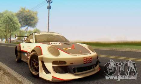Porsche GT3 R 2009 pour GTA San Andreas laissé vue