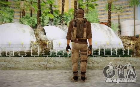 Mercenaire en armure (COD MW3) pour GTA San Andreas deuxième écran