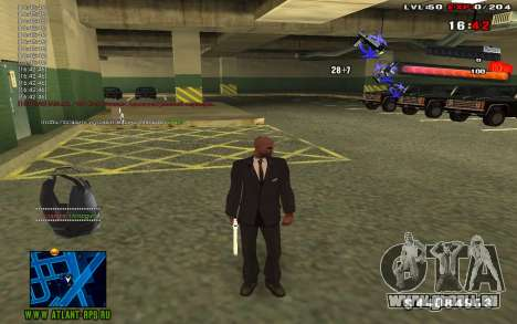 C-HUD by thereobull für GTA San Andreas