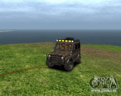UAZ 31514 Transfert pour GTA 4 est une gauche