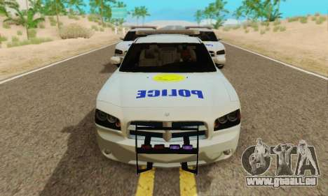 Pursuit Edition Police Dodge Charger SRT8 für GTA San Andreas linke Ansicht
