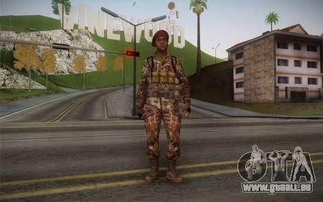 U.S. Soldier v2 für GTA San Andreas