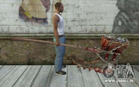 Das Beil (Resident Evil 5) für GTA San Andreas dritten Screenshot