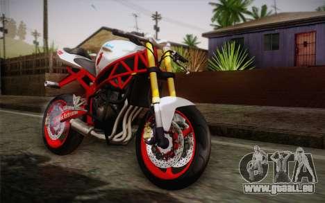 Kawasaki Zx6r Ninja für GTA San Andreas