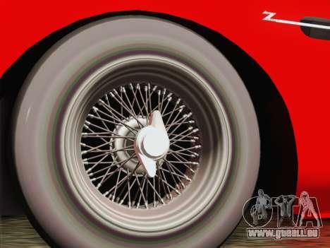 Aston Martin DB4 Zagato 1960 für GTA San Andreas zurück linke Ansicht