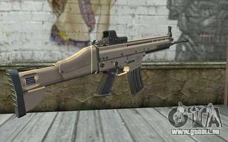 SCAR-L Custom für GTA San Andreas zweiten Screenshot