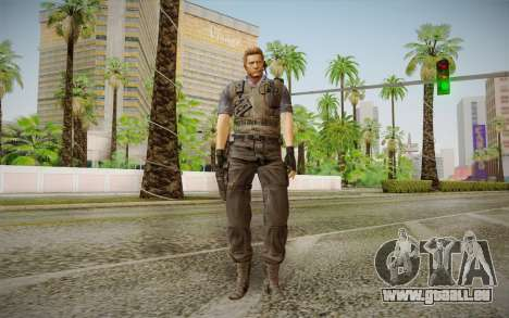 Wesker Stars from Resident Evil 5 pour GTA San Andreas