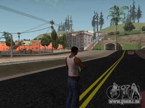 Fusil de Sniper pour GTA San Andreas quatrième écran