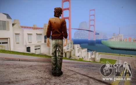 Luc из The Walking Dead pour GTA San Andreas deuxième écran