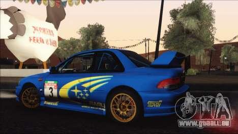 Subaru Impreza 22B STi 1998 für GTA San Andreas Motor
