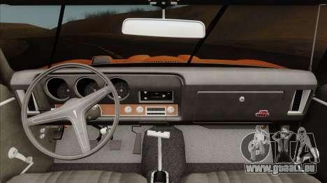 Pontiac GTO The Judge Hardtop Coupe 1969 für GTA San Andreas rechten Ansicht