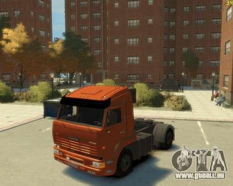 Die KamAZ-5460 für GTA 4