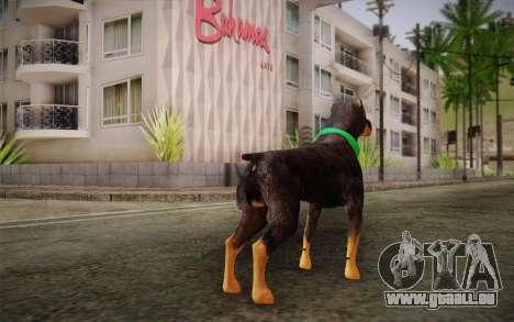 Rottweiler from GTA V pour GTA San Andreas deuxième écran