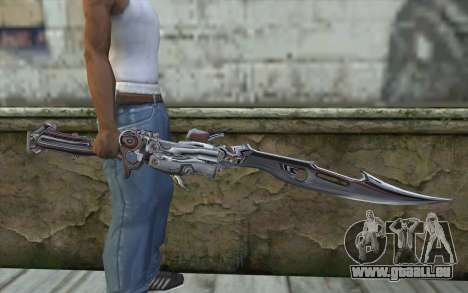 Lightnings Sword from Final Fantasy für GTA San Andreas dritten Screenshot