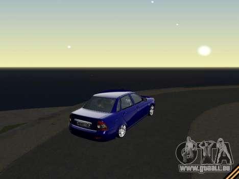 Lada 2170 Priora für GTA San Andreas rechten Ansicht