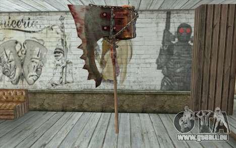 La hache du bourreau (Resident Evil 5) pour GTA San Andreas