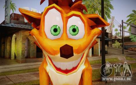 Crash Bandicoot (Crash Of The Titans) pour GTA San Andreas troisième écran
