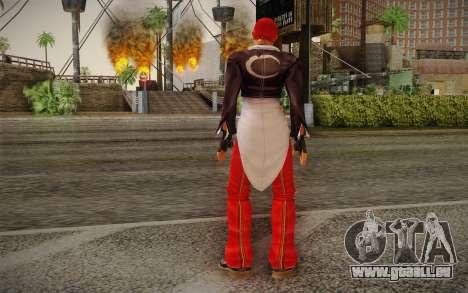 Iori Yagami pour GTA San Andreas deuxième écran