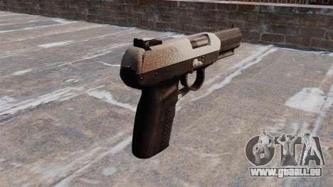 Pistole FN Five seveN Chrom für GTA 4 Sekunden Bildschirm