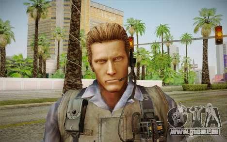 Wesker Stars from Resident Evil 5 pour GTA San Andreas troisième écran
