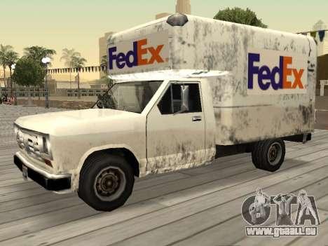 Neue Werbung auf Autos für GTA San Andreas siebten Screenshot