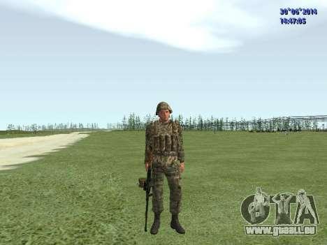 Die Kämpfer der Russischen Armee für GTA San Andreas siebten Screenshot