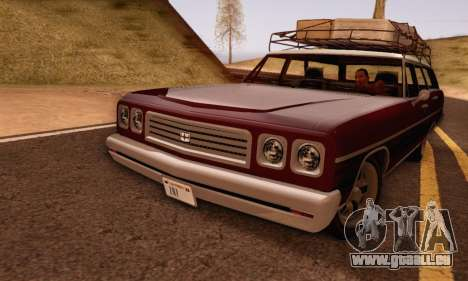 Dundreary Regina V1.0 pour GTA San Andreas laissé vue