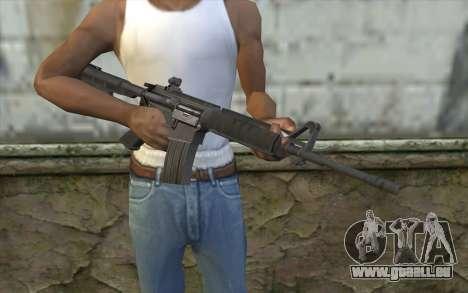 SGW M4 Rifle pour GTA San Andreas troisième écran