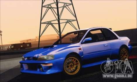 Subaru Impreza 22B STi 1998 für GTA San Andreas Rückansicht