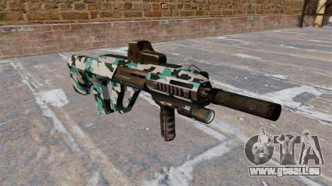 Machine Steyr AUG A3 Aqua Camo pour GTA 4