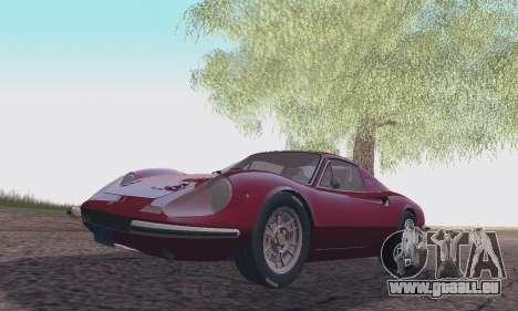Ferrari Dino 246 GTS Coupe pour GTA San Andreas