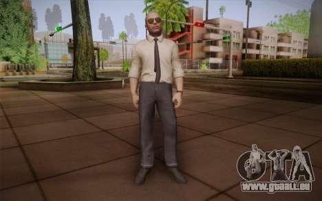 Special Agent Jason Hudson из CoD: Black Ops für GTA San Andreas