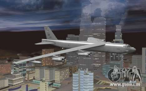 Boeing B-52H Stratofortress pour GTA San Andreas