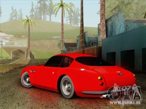 Aston Martin DB4 Zagato 1960 für GTA San Andreas linke Ansicht