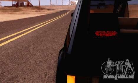 Volkswagen Golf Mk I Punk für GTA San Andreas rechten Ansicht