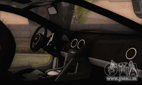 Lamborghini Murcielago 2005 Mêmes Éditions HQLM pour GTA San Andreas vue de droite