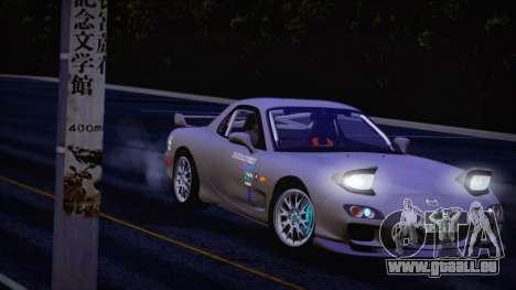 Mazda RX-7 FD3S pour GTA San Andreas